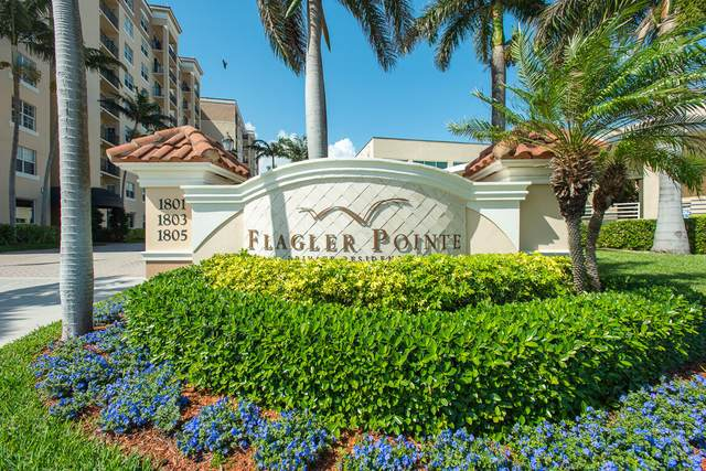 1801 N Flagler Drive #407, West Palm Beach, FL 33407 (#RX-10694987) :: Posh Properties