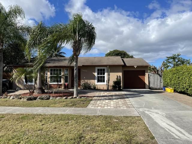 7471 Thatcher Avenue, Lake Worth, FL 33462 (MLS #RX-10695016) :: Berkshire Hathaway HomeServices EWM Realty