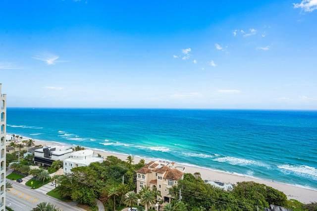 3740 S Ocean Boulevard #1702/#1703, Highland Beach, FL 33487 (#RX-10695111) :: The Reynolds Team/ONE Sotheby's International Realty