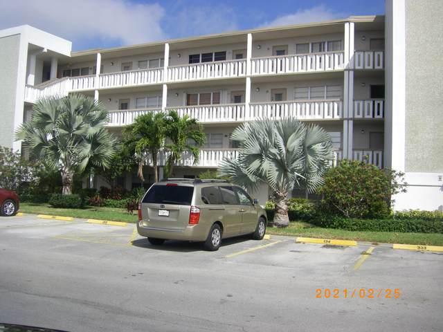 334 Southampton B #334, West Palm Beach, FL 33417 (MLS #RX-10695179) :: Berkshire Hathaway HomeServices EWM Realty