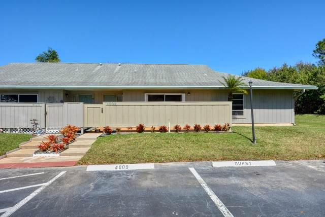 4009 NW Cinnamon Tree Circle, Jensen Beach, FL 34957 (MLS #RX-10695323) :: United Realty Group