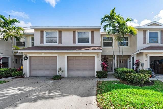 104 Crosswinds Drive, Greenacres, FL 33413 (MLS #RX-10695407) :: Berkshire Hathaway HomeServices EWM Realty