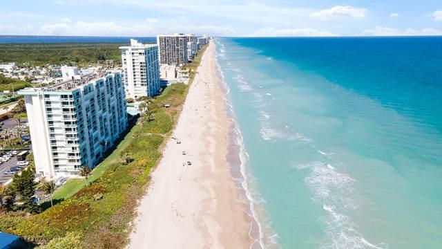 9940 S Ocean Drive #605, Jensen Beach, FL 34957 (#RX-10695484) :: Real Treasure Coast