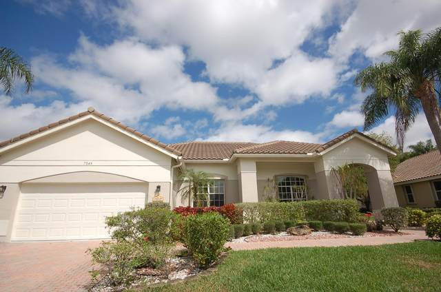 7549 Northport Drive, Boynton Beach, FL 33472 (MLS #RX-10695524) :: Berkshire Hathaway HomeServices EWM Realty