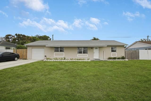 408 Alemeda Drive, Palm Springs, FL 33461 (MLS #RX-10695541) :: Castelli Real Estate Services