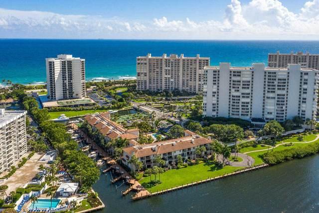 4201 N Ocean Boulevard #1605, Boca Raton, FL 33431 (MLS #RX-10695629) :: Dalton Wade Real Estate Group