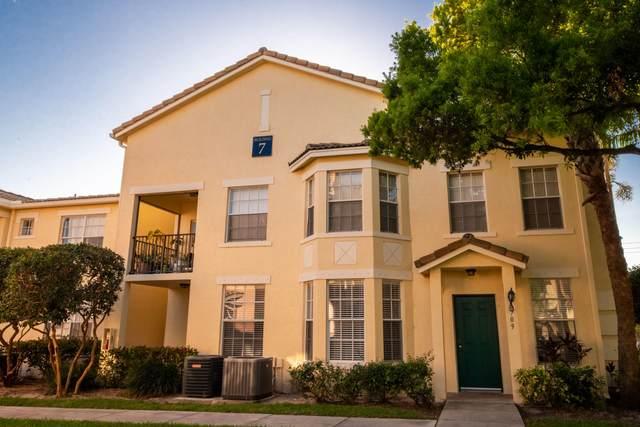709 Belmont Place #709, Boynton Beach, FL 33436 (MLS #RX-10695764) :: United Realty Group