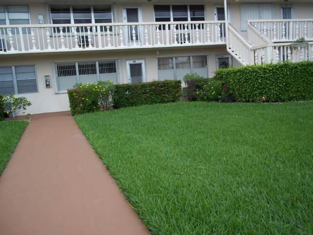27 Berkshire B #27, West Palm Beach, FL 33417 (MLS #RX-10695806) :: United Realty Group