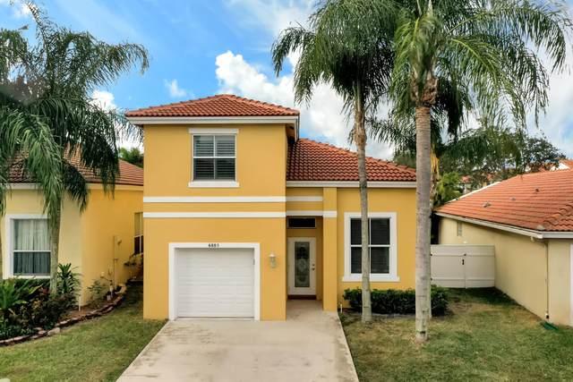 6885 Desert Inn Terrace, Lake Worth, FL 33463 (MLS #RX-10695817) :: United Realty Group