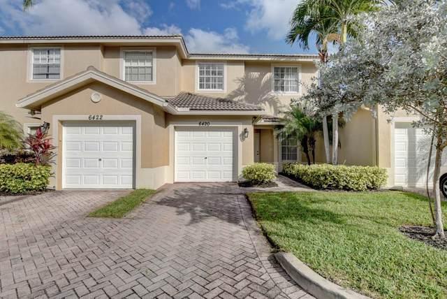 6420 Park Lake Circle, Boynton Beach, FL 33437 (#RX-10695878) :: Exit Realty Manes Group