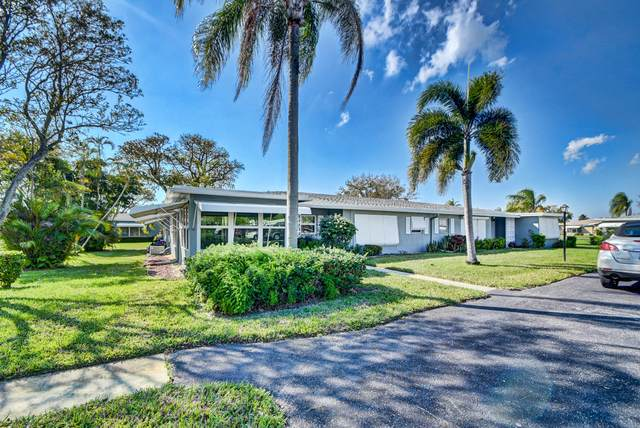 830 High Point Drive W A, Delray Beach, FL 33445 (#RX-10695920) :: Signature International Real Estate