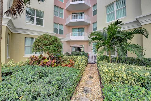 806 E Windward Way #214, Lantana, FL 33462 (MLS #RX-10695935) :: Berkshire Hathaway HomeServices EWM Realty