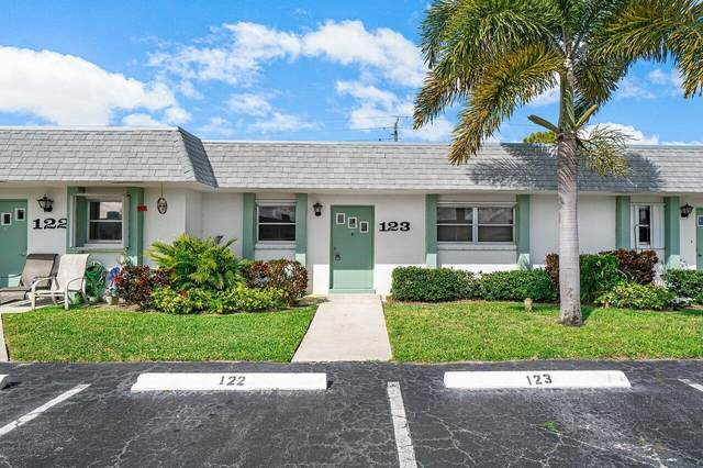 2638 Gately Drive E #123, West Palm Beach, FL 33415 (MLS #RX-10696033) :: Castelli Real Estate Services