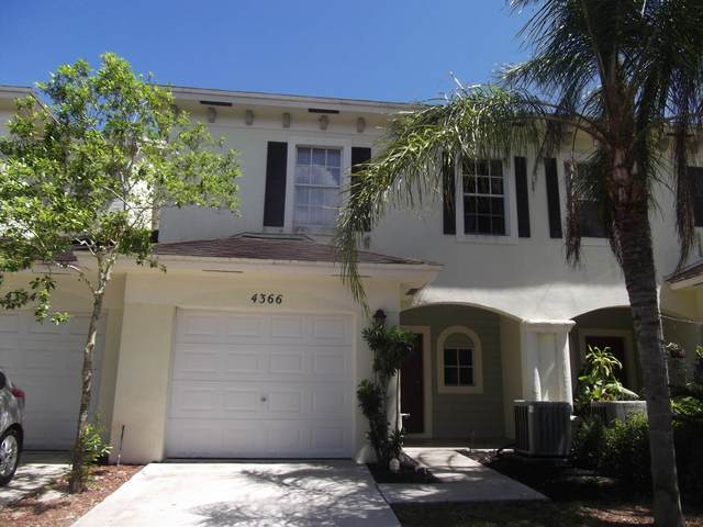 4366 Emerald Vista, Lake Worth, FL 33461 (MLS #RX-10696148) :: Dalton Wade Real Estate Group