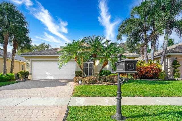6555 Via Vicenza, Delray Beach, FL 33446 (MLS #RX-10696248) :: Castelli Real Estate Services