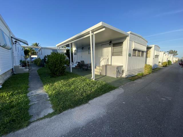 29 Juniper K Drive K, Briny Breezes, FL 33435 (MLS #RX-10696403) :: Berkshire Hathaway HomeServices EWM Realty