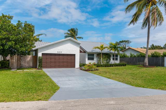 509 Enfield Road, Delray Beach, FL 33444 (MLS #RX-10696457) :: Castelli Real Estate Services