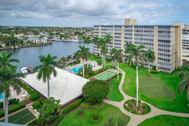 3300 S Ocean Boulevard 1018-C, Highland Beach, FL 33487 (#RX-10696629) :: Signature International Real Estate