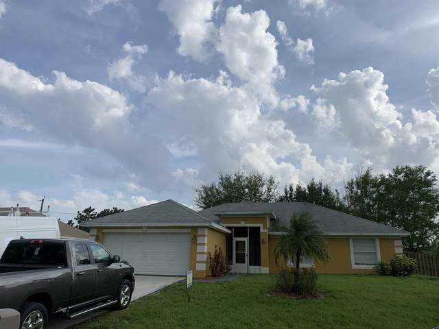 174 SW Fairchild Avenue, Port Saint Lucie, FL 34984 (MLS #RX-10696679) :: Castelli Real Estate Services