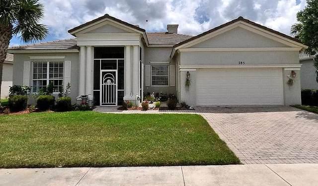 285 SW Lake Forest Way, Port Saint Lucie, FL 34986 (MLS #RX-10696683) :: Miami Villa Group