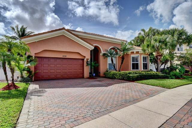 3172 Hartridge Terrace, Wellington, FL 33414 (MLS #RX-10696791) :: Castelli Real Estate Services