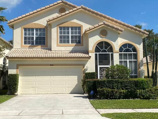 7646 Colony Palm Drive, Boynton Beach, FL 33436 (MLS #RX-10696810) :: Castelli Real Estate Services