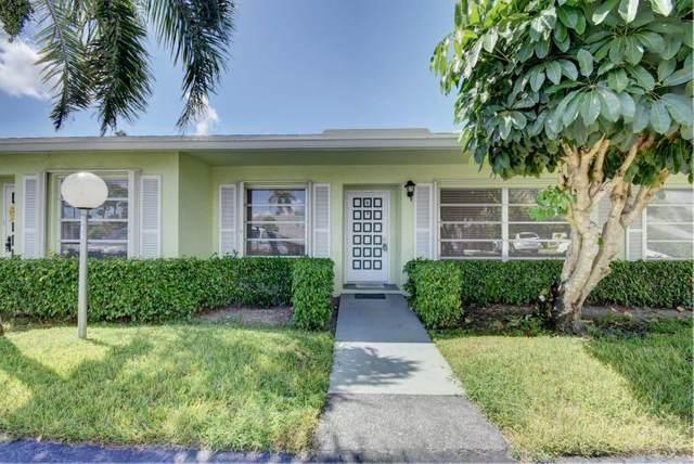 2381 Shady Lane B, Delray Beach, FL 33445 (MLS #RX-10696838) :: Castelli Real Estate Services