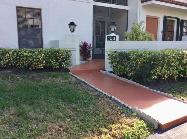9633 Sills Drive E #103, Boynton Beach, FL 33437 (#RX-10697190) :: Posh Properties