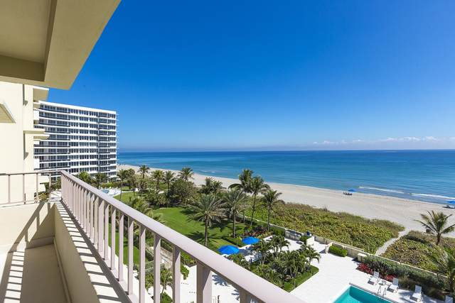 750 S Ocean Boulevard 6S, Boca Raton, FL 33432 (MLS #RX-10697211) :: The Paiz Group