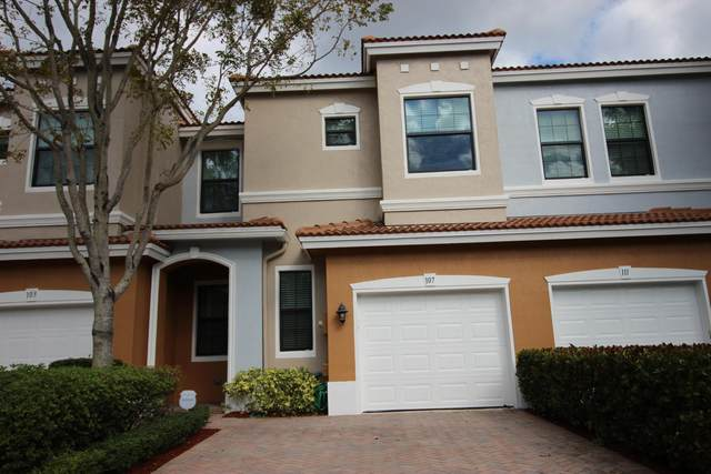 107 W Gramercy Square Drive, Delray Beach, FL 33484 (MLS #RX-10697252) :: Dalton Wade Real Estate Group