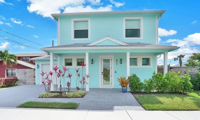 411 SW 5th Avenue, Delray Beach, FL 33444 (MLS #RX-10697294) :: Castelli Real Estate Services