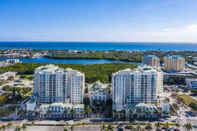 350 N Federal Highway #1114, Boynton Beach, FL 33435 (MLS #RX-10697434) :: Berkshire Hathaway HomeServices EWM Realty