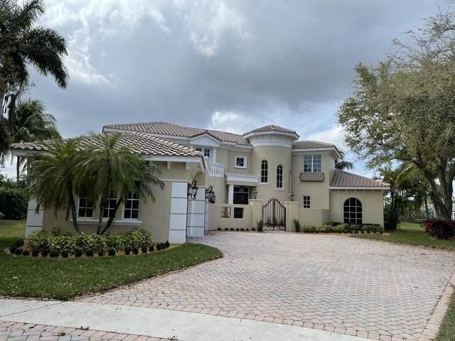 6095 Via Crystalle, Delray Beach, FL 33484 (MLS #RX-10697478) :: Dalton Wade Real Estate Group