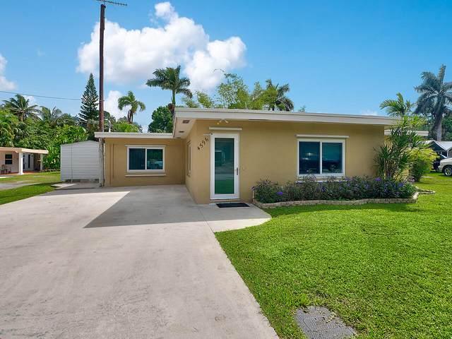 4596 SW 29th Terrace, Fort Lauderdale, FL 33312 (MLS #RX-10697558) :: Castelli Real Estate Services