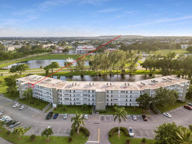 4158 Cambridge G G, Deerfield Beach, FL 33442 (#RX-10697560) :: Treasure Property Group