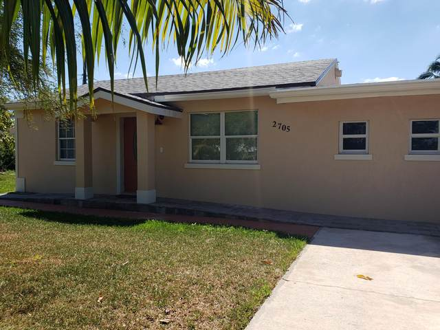 2705 10th Avenue N, Lake Worth, FL 33461 (#RX-10697583) :: Treasure Property Group