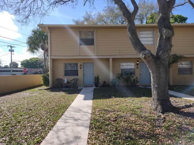 2018 S 10th Street Apt F, Fort Pierce, FL 34950 (MLS #RX-10697643) :: Berkshire Hathaway HomeServices EWM Realty