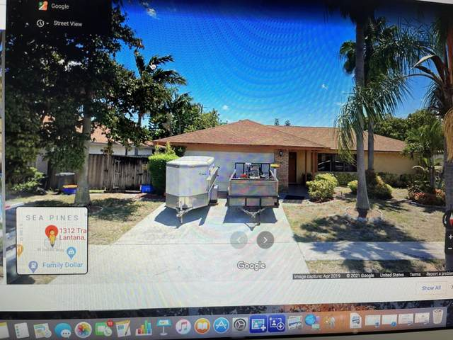 1312 Tradewinds Way, Lantana, FL 33462 (MLS #RX-10697743) :: Berkshire Hathaway HomeServices EWM Realty