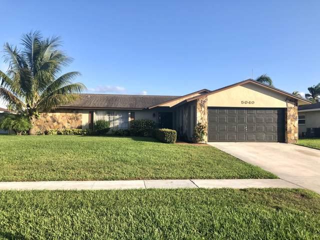 5040 Woodstone Circle N, Lake Worth, FL 33463 (#RX-10697835) :: Posh Properties