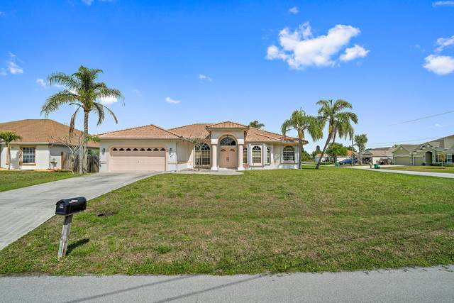 601 SW Saragossa Avenue, Port Saint Lucie, FL 34953 (MLS #RX-10698032) :: Dalton Wade Real Estate Group
