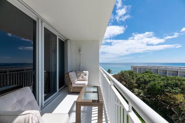 2780 S Ocean Boulevard #707, Palm Beach, FL 33480 (#RX-10698151) :: DO Homes Group