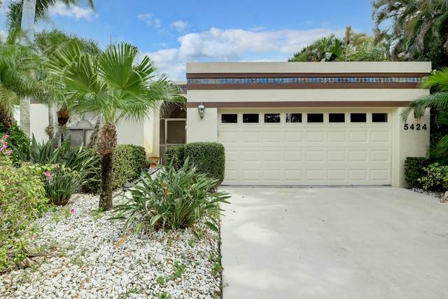 5424 San Roma Circle, Lake Worth, FL 33467 (MLS #RX-10698277) :: The Jack Coden Group