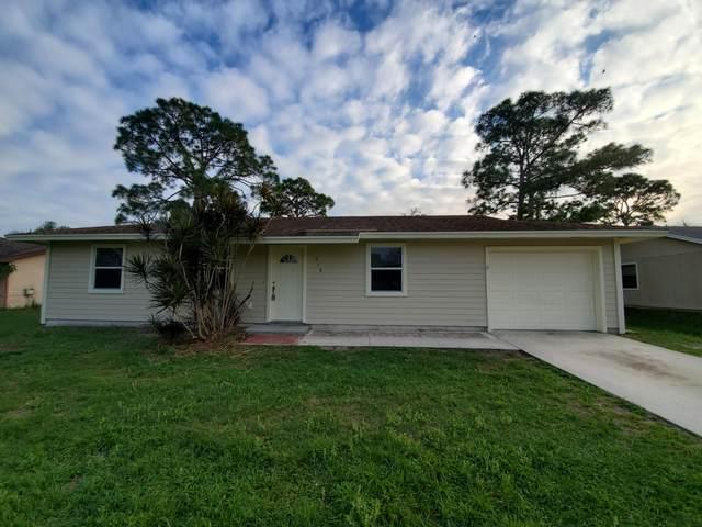 348 NW Placid Avenue, Port Saint Lucie, FL 34983 (MLS #RX-10698732) :: The Paiz Group