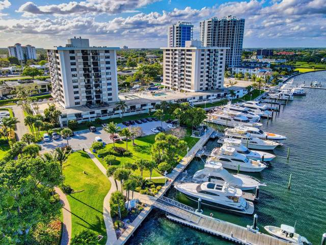 1200 Marine Way #607, North Palm Beach, FL 33408 (#RX-10699514) :: Baron Real Estate