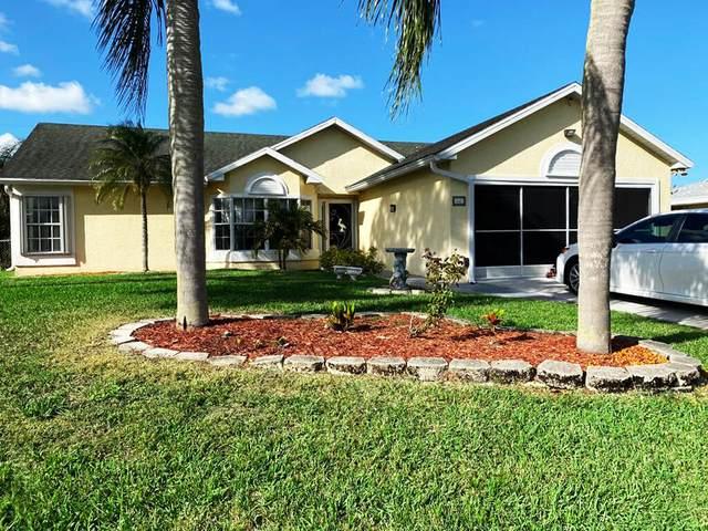 441 SE Evans Avenue, Port Saint Lucie, FL 34984 (MLS #RX-10699824) :: The Jack Coden Group