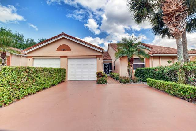 9917 Summerbrook Terrace B, Boynton Beach, FL 33437 (MLS #RX-10700211) :: The Paiz Group