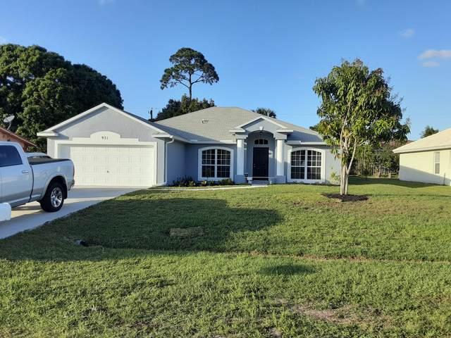971 SW Dalton Avenue, Port Saint Lucie, FL 34953 (MLS #RX-10700291) :: The Paiz Group