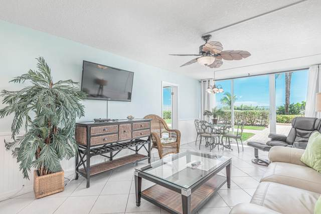 9800 S Ocean Drive #107, Jensen Beach, FL 34957 (MLS #RX-10700515) :: Castelli Real Estate Services