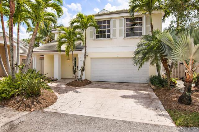 22 Governors Court, Palm Beach Gardens, FL 33418 (MLS #RX-10700928) :: The Jack Coden Group