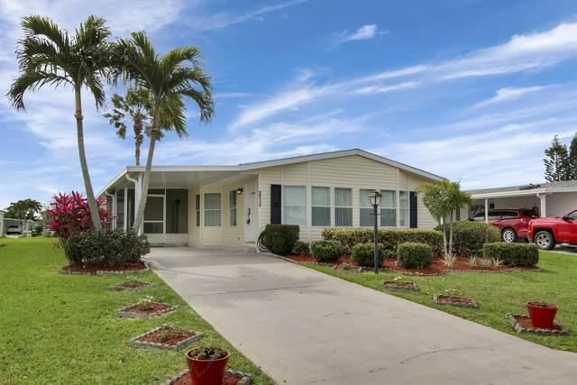3717 Crabapple Drive, Port Saint Lucie, FL 34952 (#RX-10701294) :: Real Treasure Coast